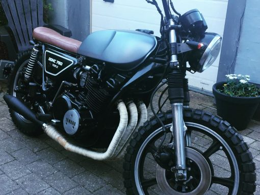 Caferacer bygget for kunde